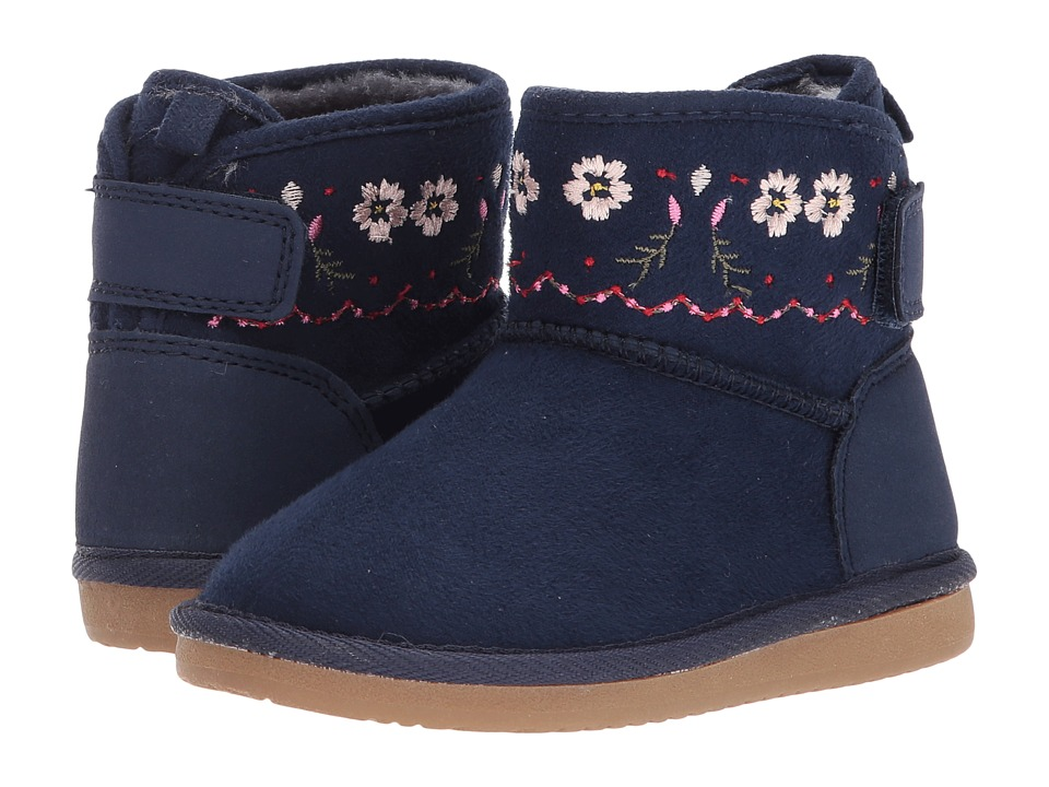 Carters - Tiana (Toddler/Little Kid) (Navy) Girl's Shoes