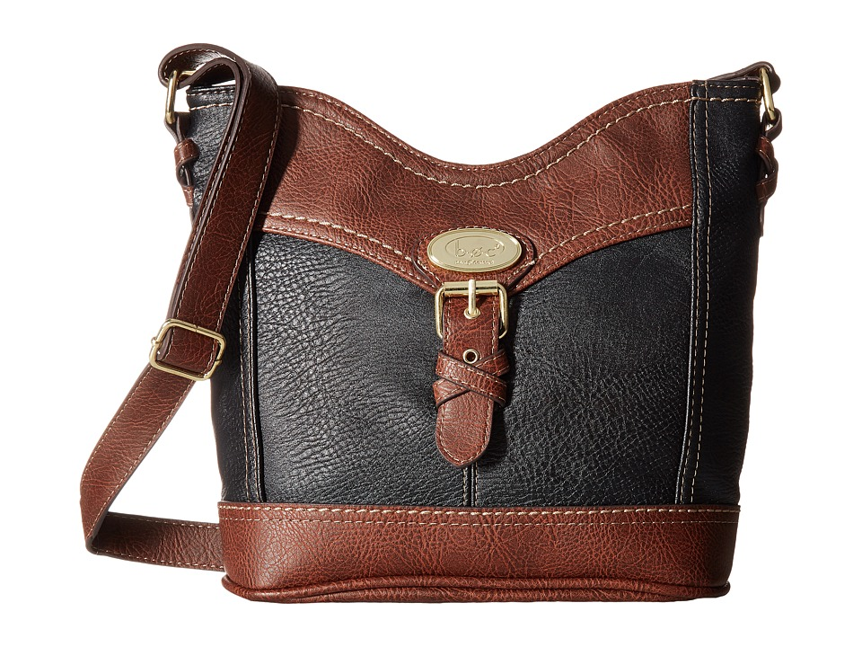 b.o.c. - Danford Crossbody Power Bank (Black/Chocolate) Cross Body Handbags