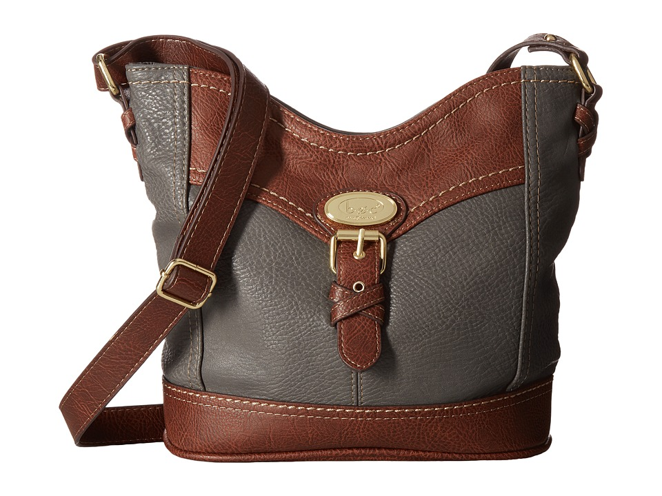 b.o.c. - Danford Crossbody Power Bank (Charcoal/Chocolate) Cross Body Handbags