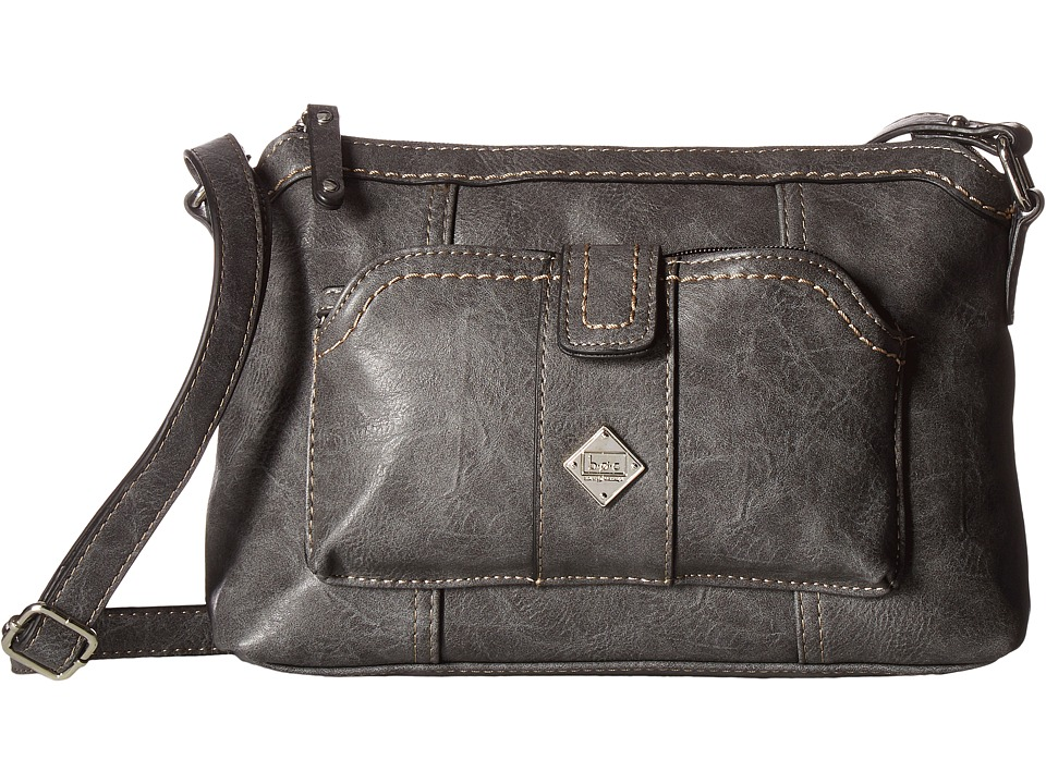 b.o.c. - Winton Crossbody with Removable Power Bank (Charcoal) Cross Body Handbags