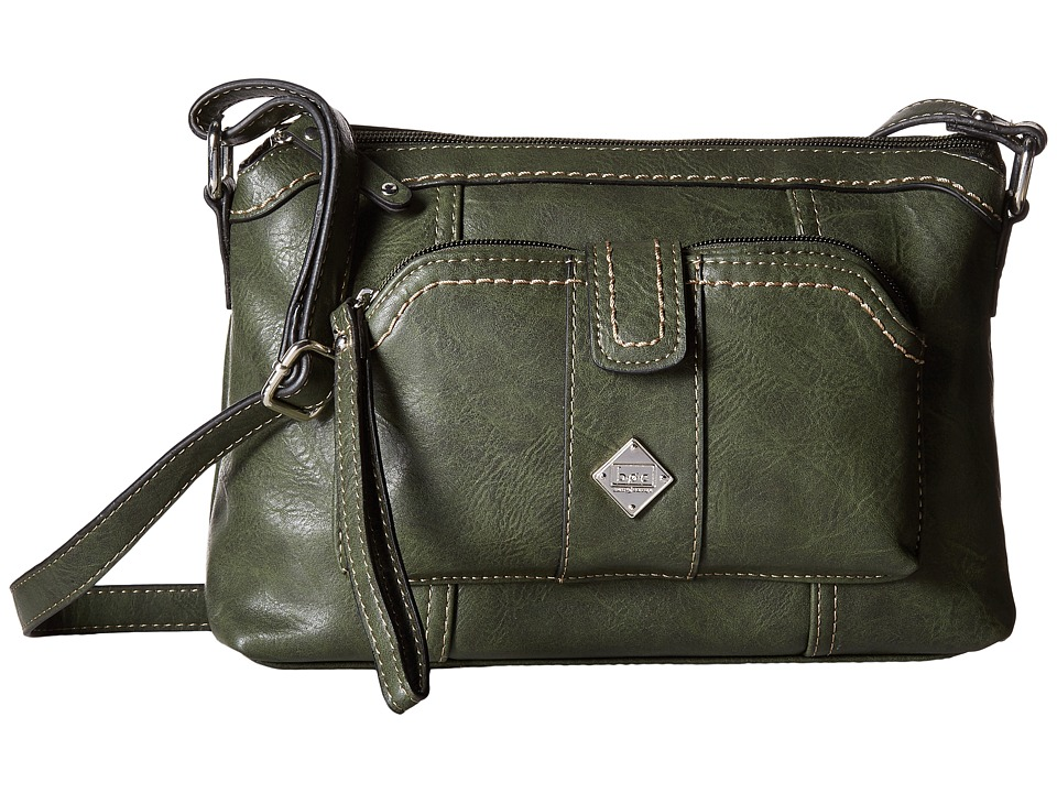 b.o.c. - Winton Crossbody with Removable Power Bank (Olive) Cross Body Handbags