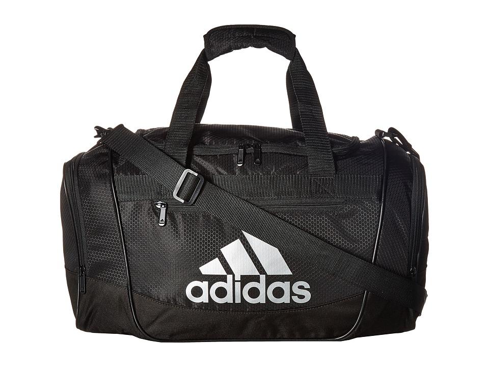 adidas - Defender III Small Duffel (Black/Silver) Duffel Bags