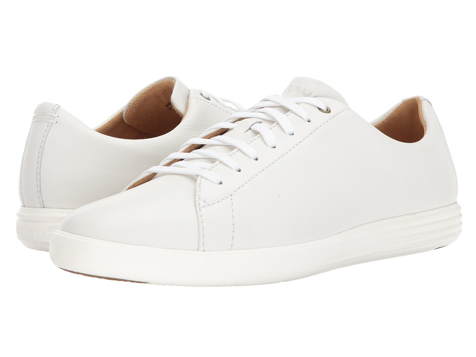 Cole Haan Grand Crosscourt II (White Leather) Men