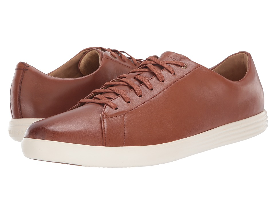 Cole Haan Grand Crosscourt II (Tan Leather Burnish) Men