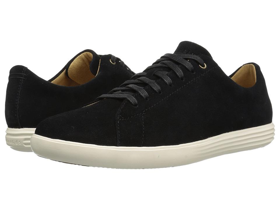 Cole Haan - Grand Crosscourt II (Black Suede) Men's Shoes