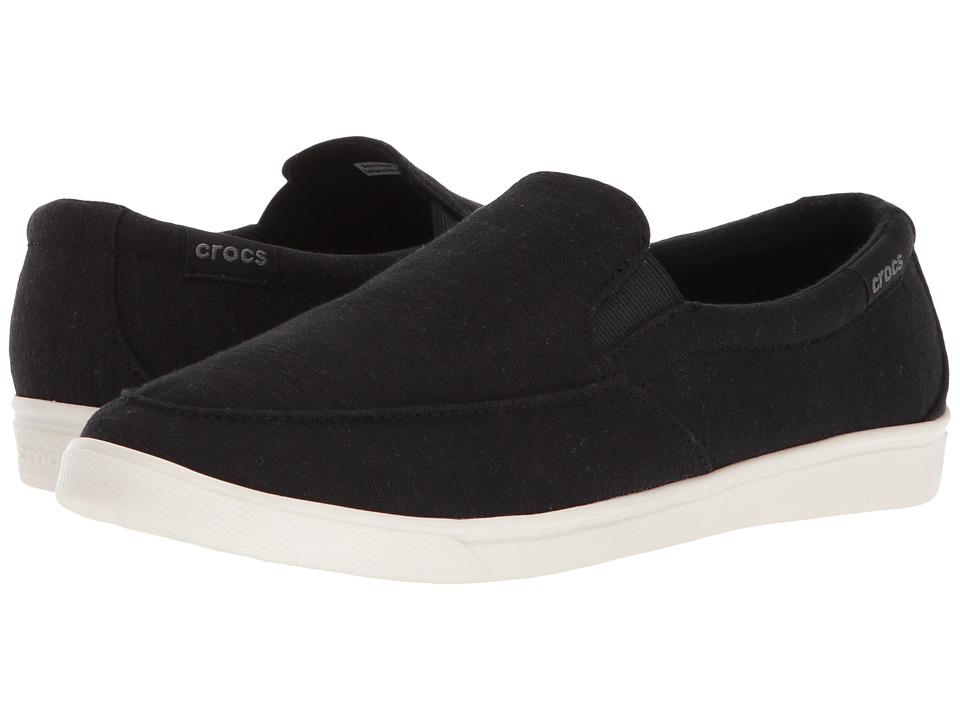 Crocs CitiLane Low Slip-On (Black) Women