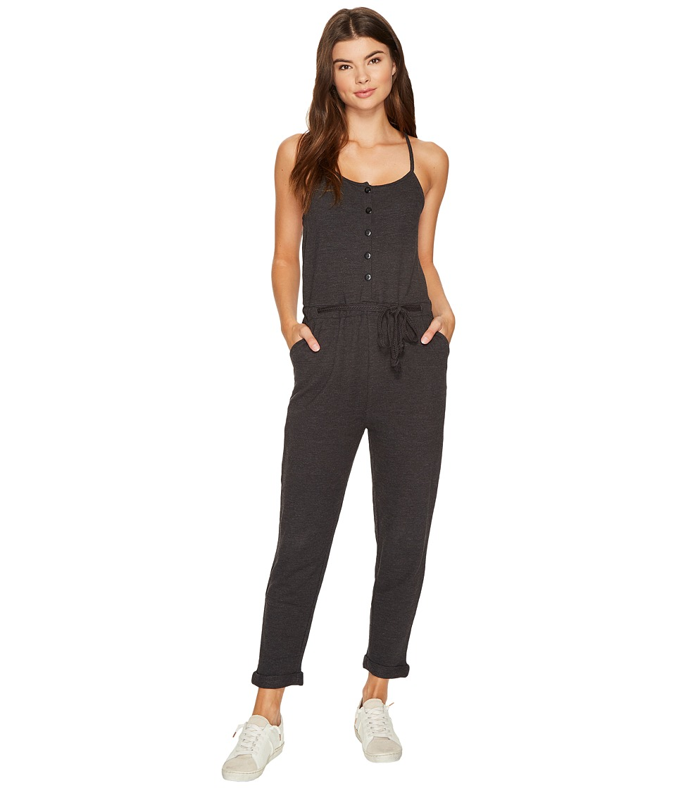 O'Neill - Greta Jumpsuit (Heather Grey) Women's Jumpsuit & Rompers One Piece