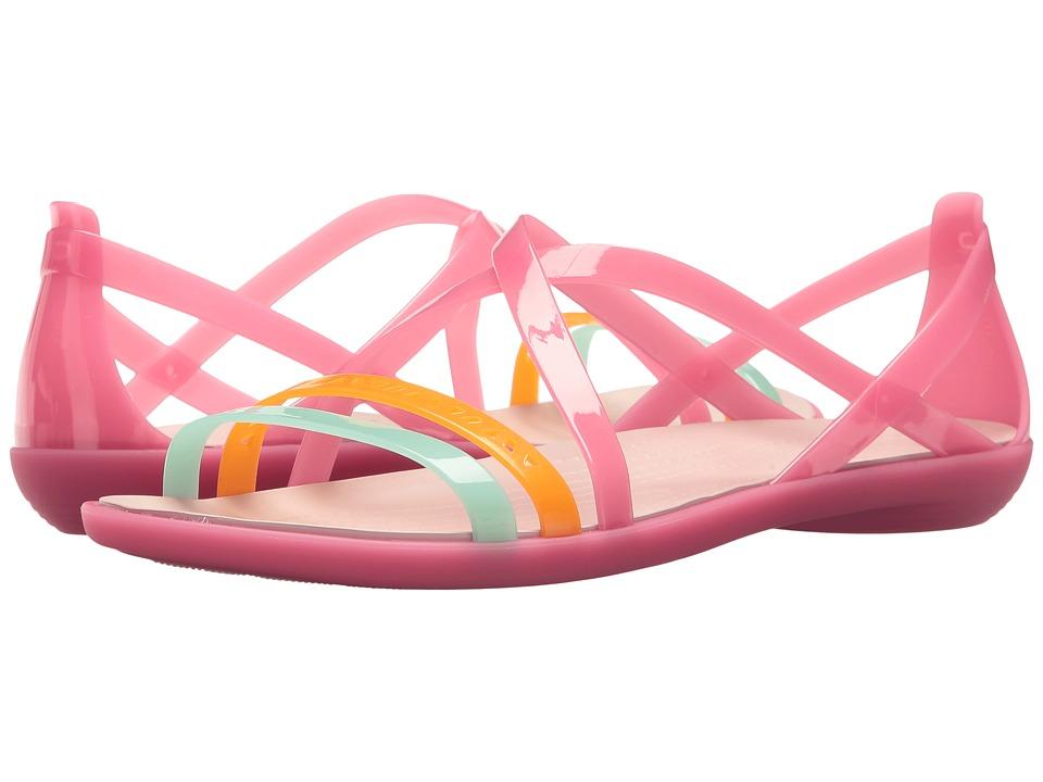 Crocs Isabella Cut Strappy Sandal (Paradise Pink/Rose Dust) Women