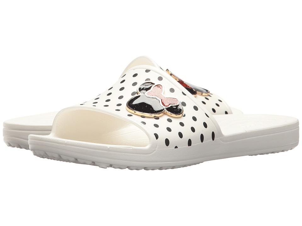 Crocs Crocs Sloane Minnie Slide (White) Women