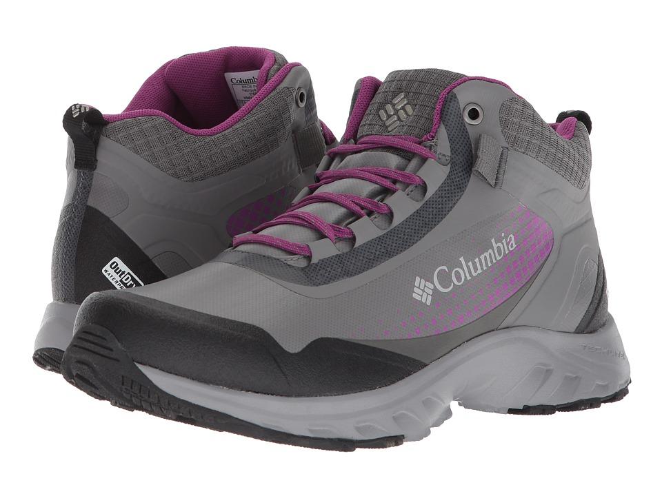 Columbia Irrigon Trail Mid Outdry XTRM (Titanium MHW/Intense Violet) Women