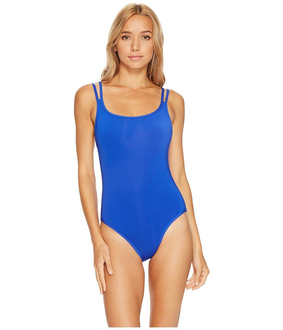 JETS by Jessika Allen Jetset Double Strap One-Piece Swimsuit (Oceanic) Women