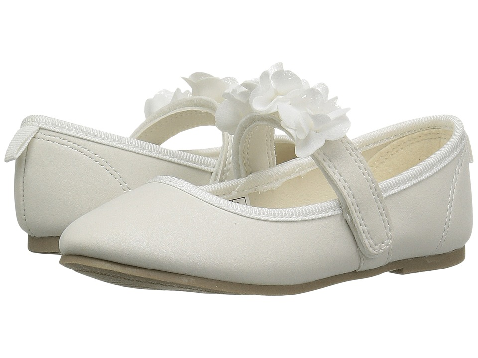 Carters - Cake 2 (Toddler/Little Kid) (Ivory) Girl's Shoes