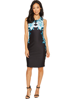 Printed Sheath Dress by Calvin Klein