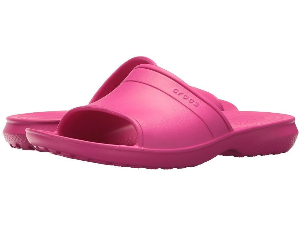 Crocs Classic Slide (Candy Pink) Slide Shoes