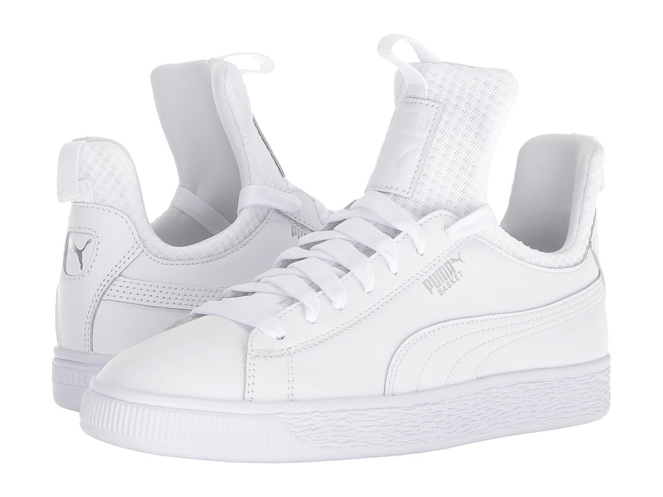 PUMA Basket Fierce EP (Puma White/Puma White) Women