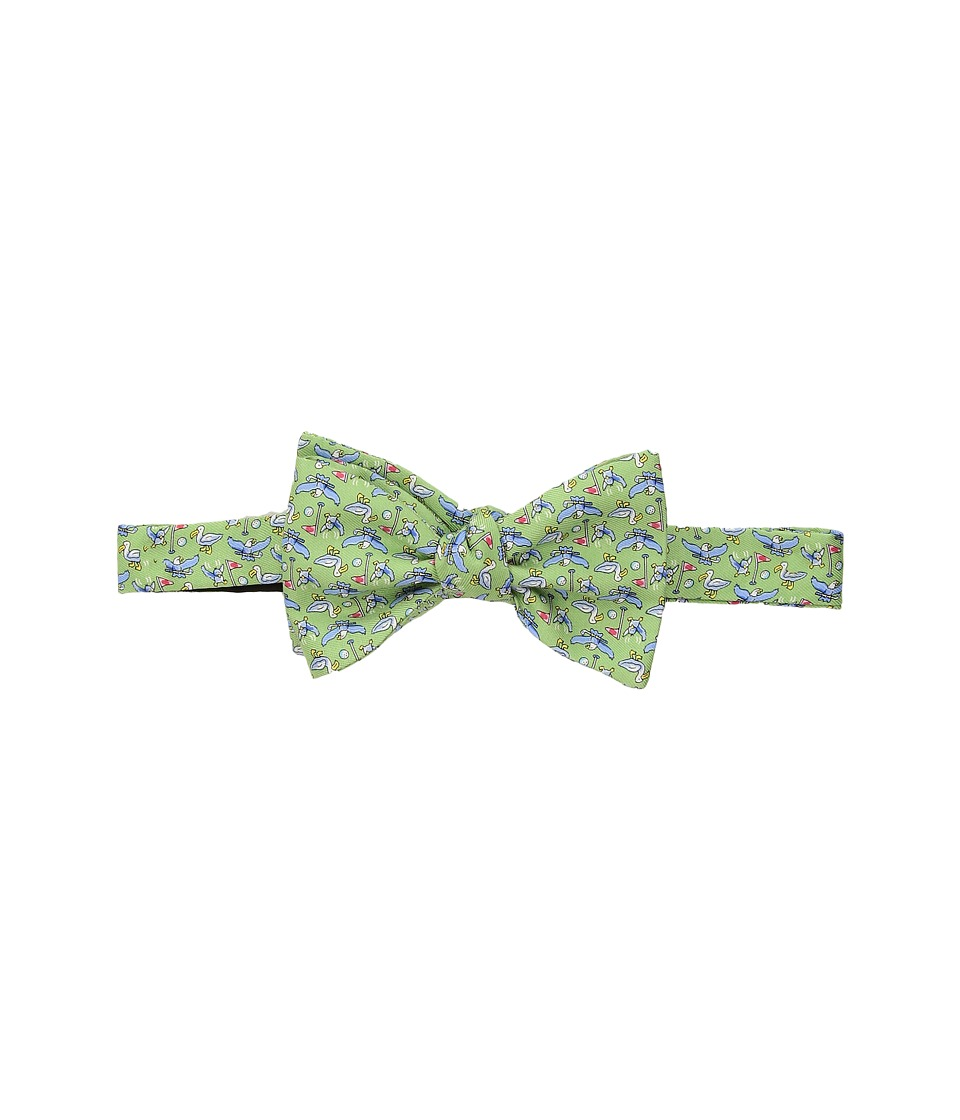 Vineyard Vines - Eagle Birdie Albatross Printed Bow Tie (Green Gecko) Ties