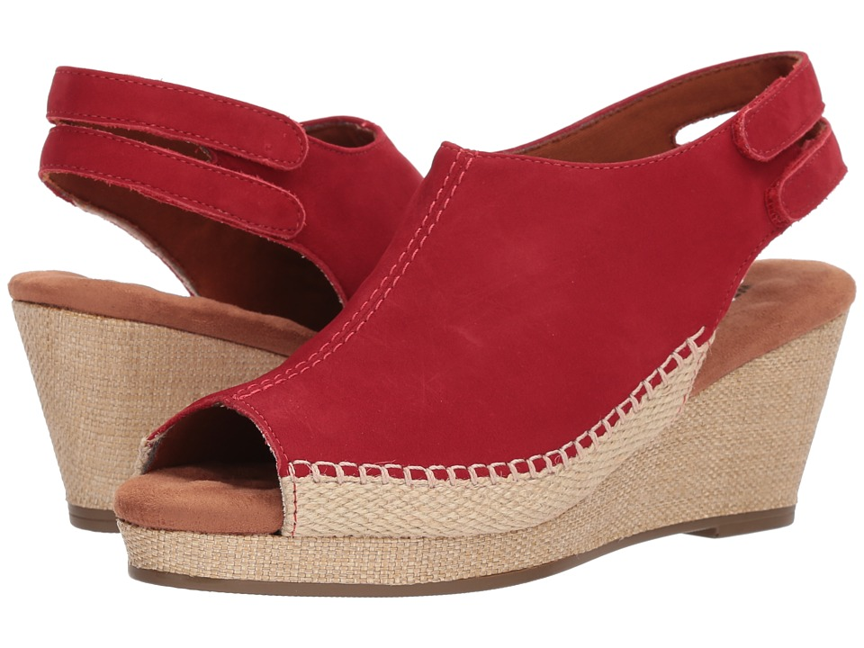 Walking Cradles Anikka (Red Nubuck) Women