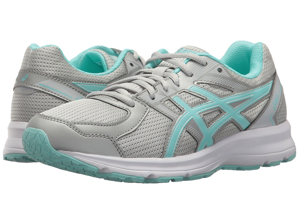 ASICS - Jolt (Glacier Grey/Aqua Splash/White) Women's Running Shoes