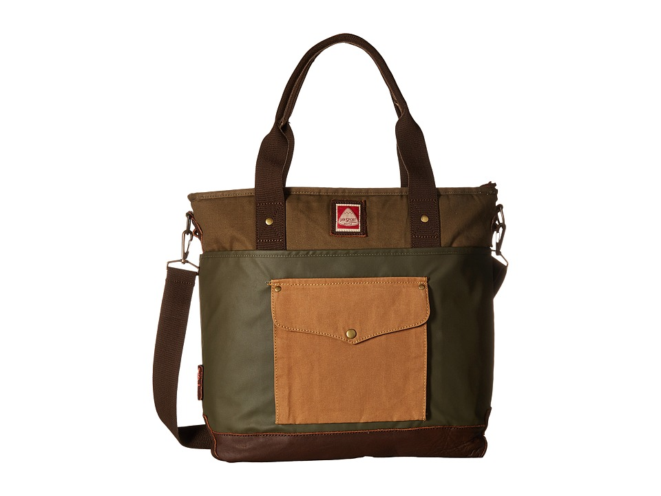 JanSport - Brannan Tote (Green Machine) Tote Handbags