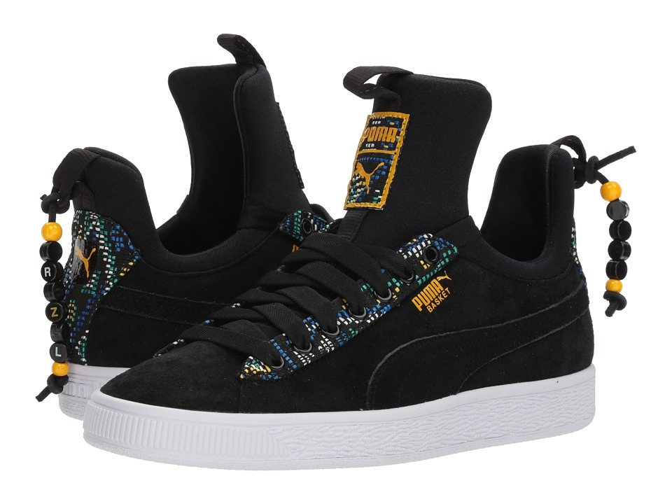 PUMA Basket Fierce Carnval FM (PUMA Black) Women