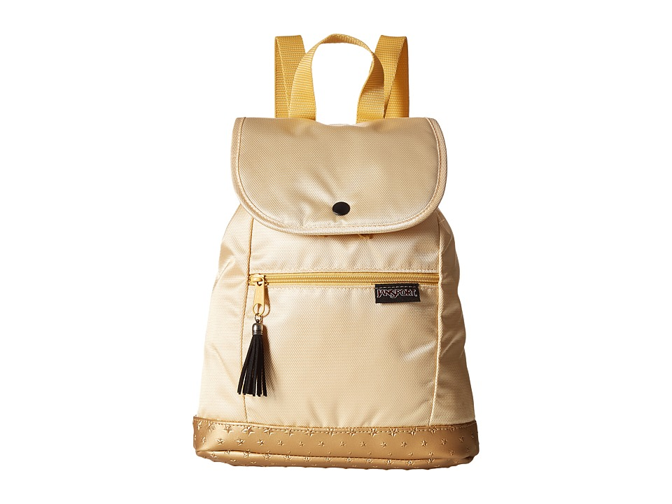 JanSport - Abbie (Gold 3D Stars) Backpack Bags