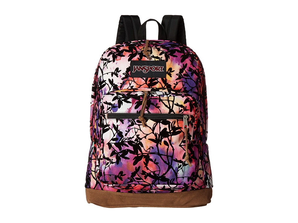 JanSport - Right Pack Expressions (Multi Rainbow Garden Flock) Backpack Bags