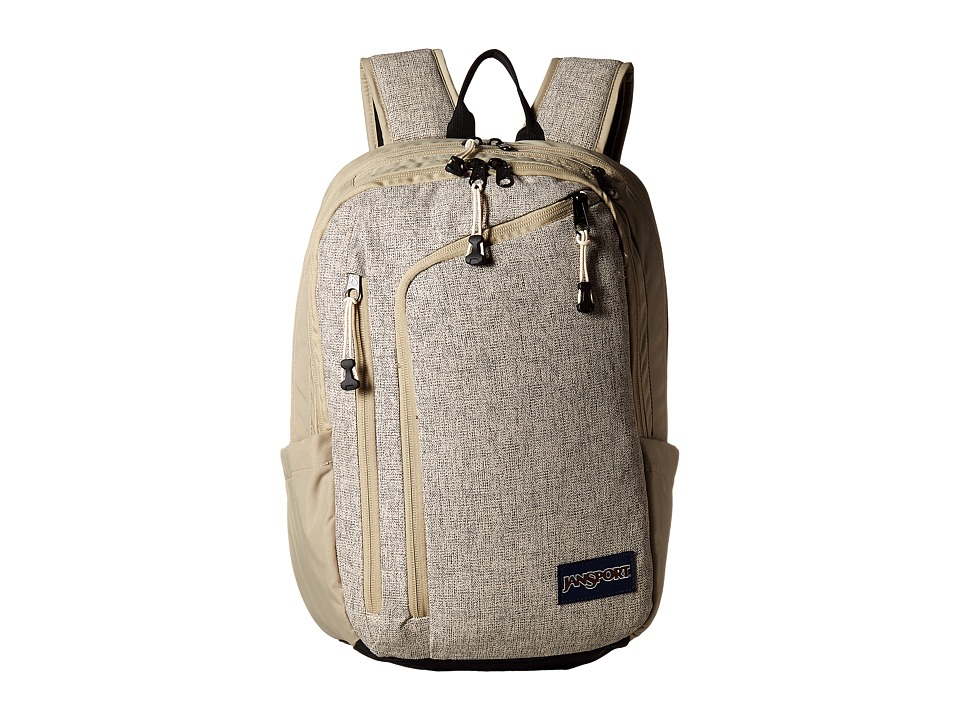 JanSport - Platform (Desert Beige Static) Backpack Bags