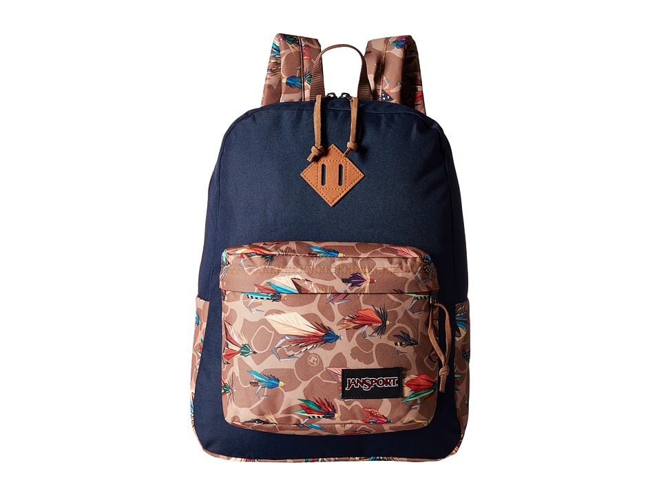 JanSport - Super FX (Multi Fly Camo) Backpack Bags
