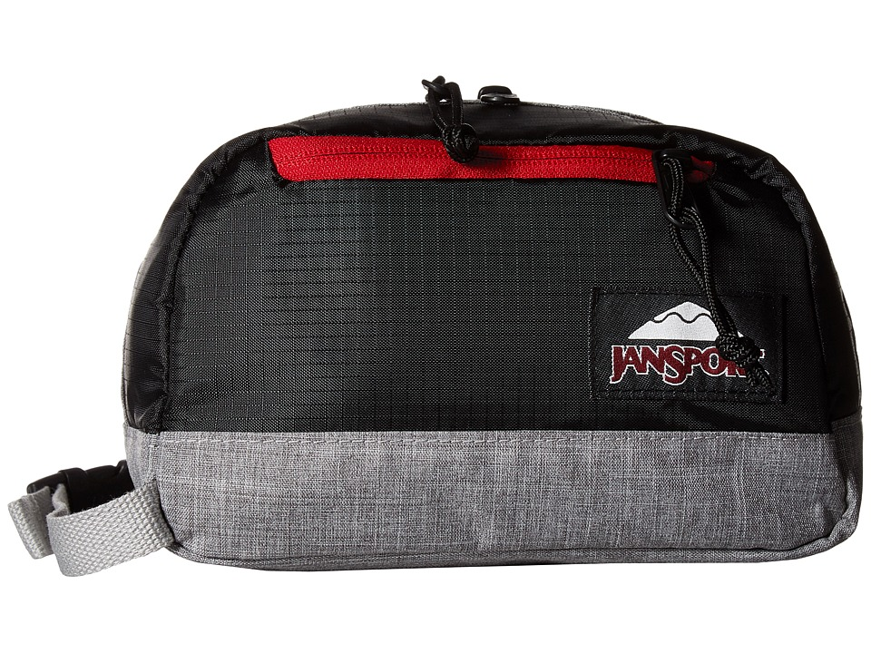 JanSport - Wedge DL (Black Poly Ripstop/Grey Marl) Bags