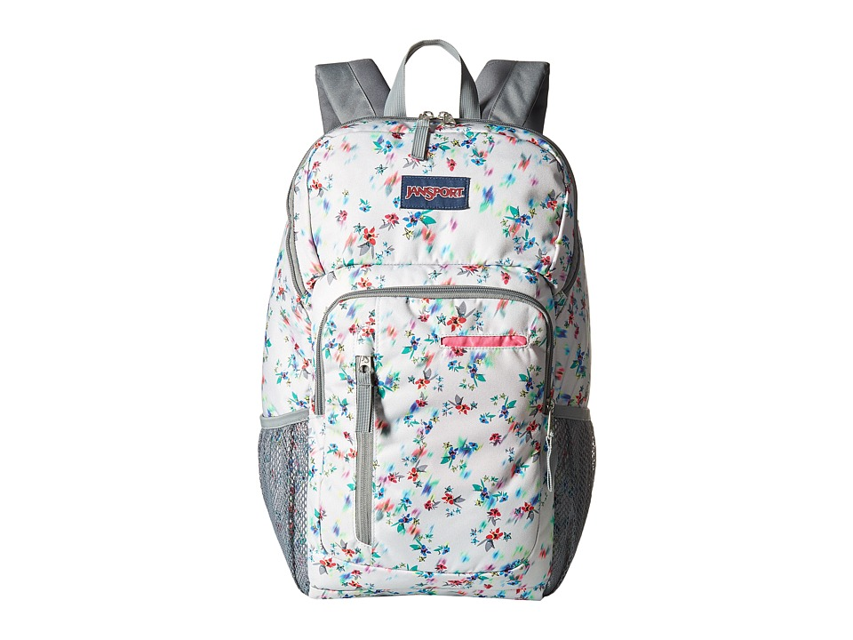 JanSport - Impulse (Multi Grey Floral Haze) Day Pack Bags