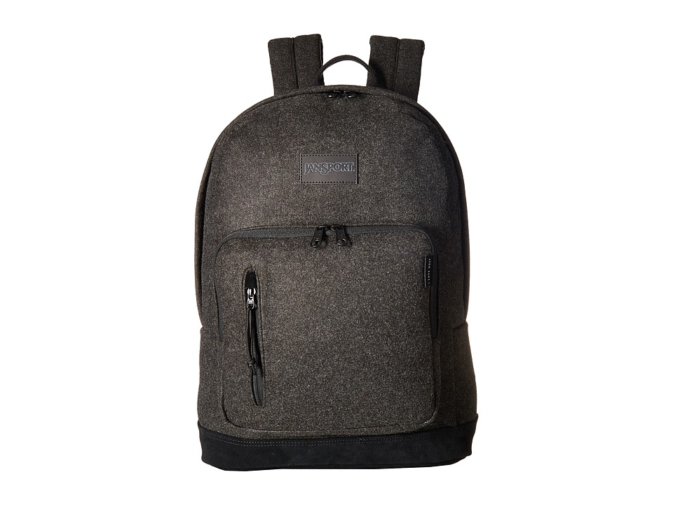 JanSport - JS X Ilu Axiom (Charcoal Grey) Day Pack Bags