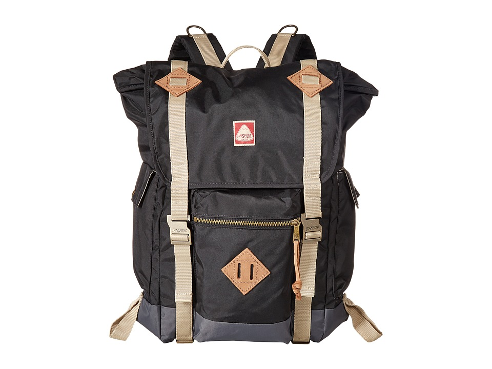 JanSport - Adobe (Black) Day Pack Bags