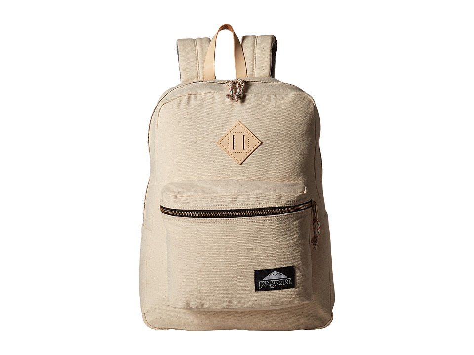 JanSport - Super FX DL (Destination Natural Canvas) Day Pack Bags