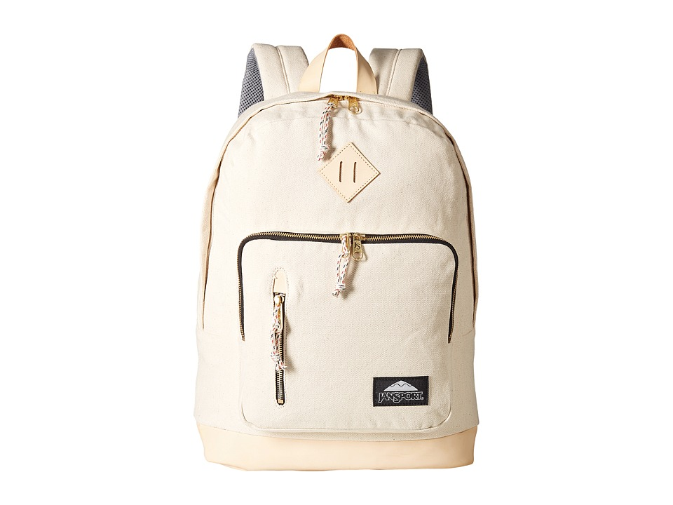 JanSport - Axiom (Destination Natural Canvas) Day Pack Bags