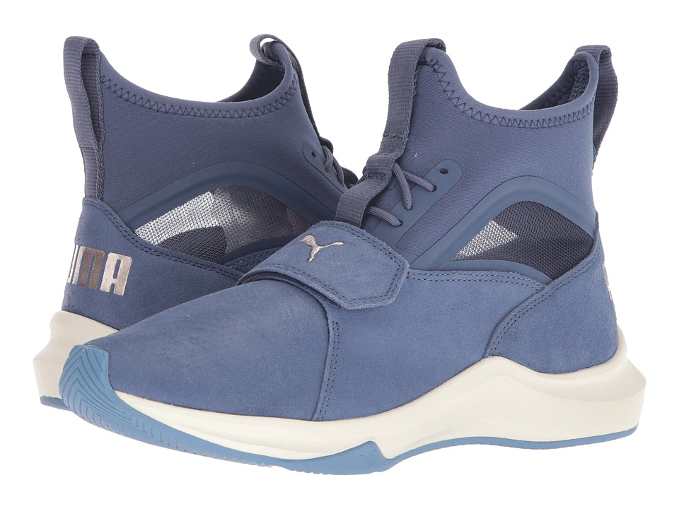 PUMA Phenom Shimmer (Blue Indigo/Whisper White) Women