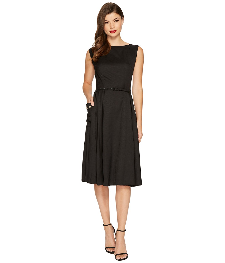 Unique Vintage - Eden Sleeveless Dress (Black) Women's Dress