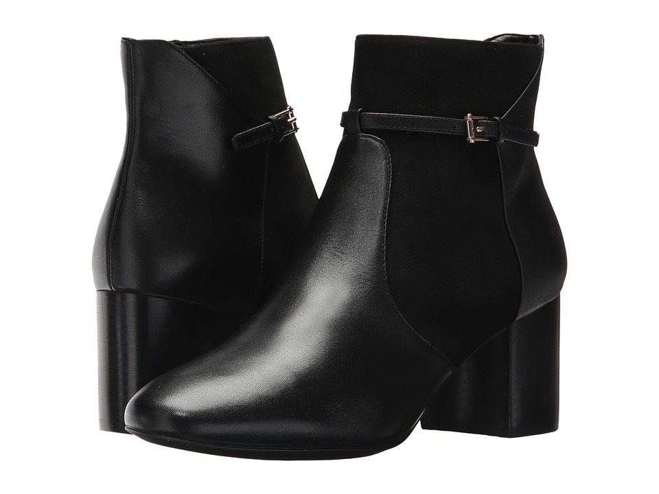 Cole Haan Paulina Grand Bootie (Black Leather/Suede) Women