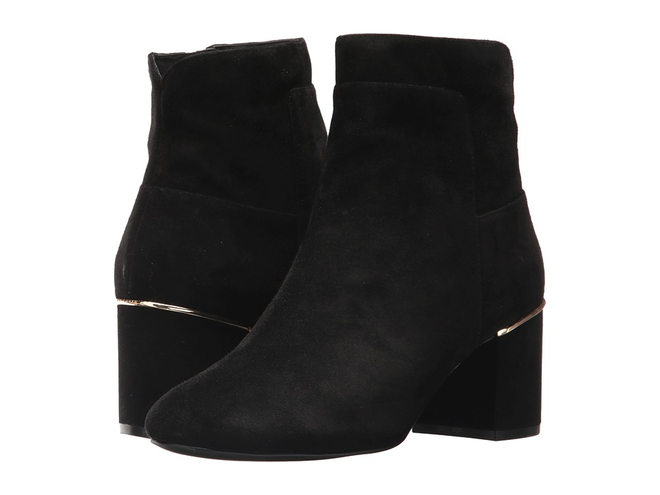 Cole Haan Arden Grand Bootie (Black Suede) Women