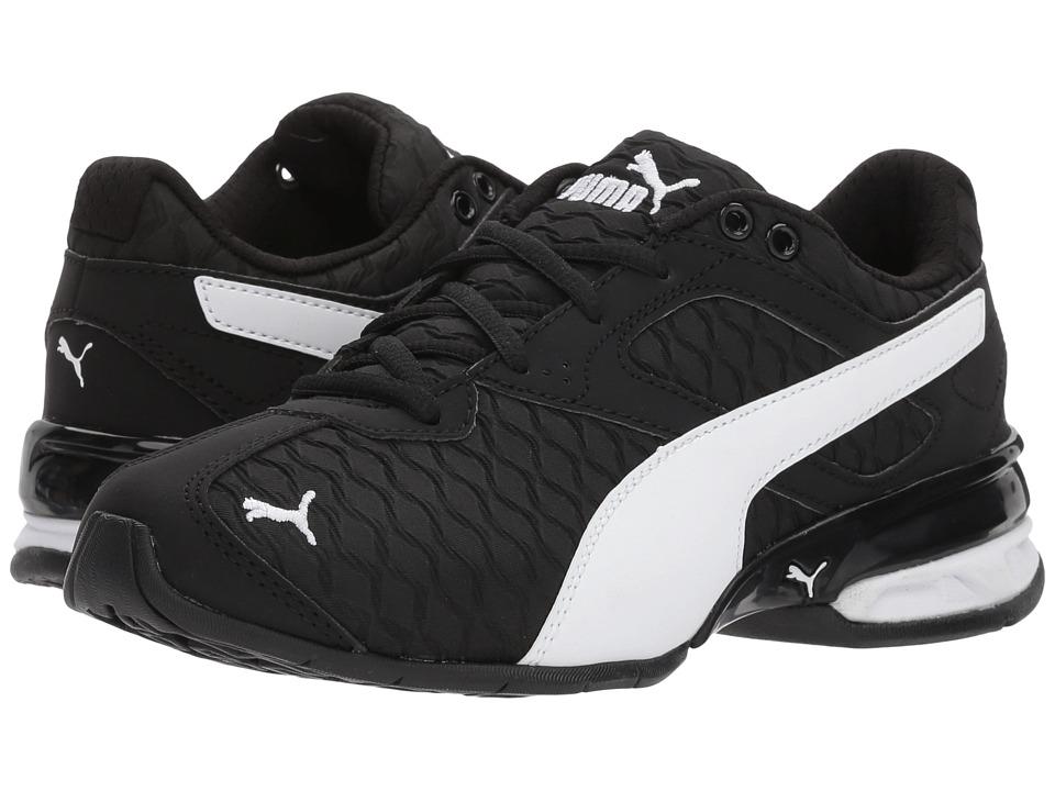 Puma Kids Tazon 6 3D (Little Kid) (Puma Black/Puma White) Boys Shoes