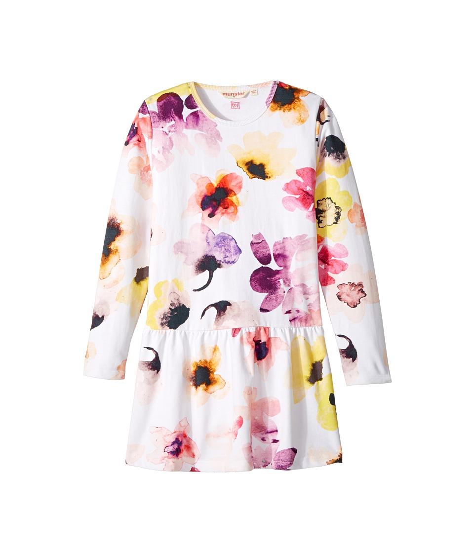 Munster Kids - Jupiter Dress (Toddler/Little Kids/Big Kids) (Cream Floral) Girl's Dress