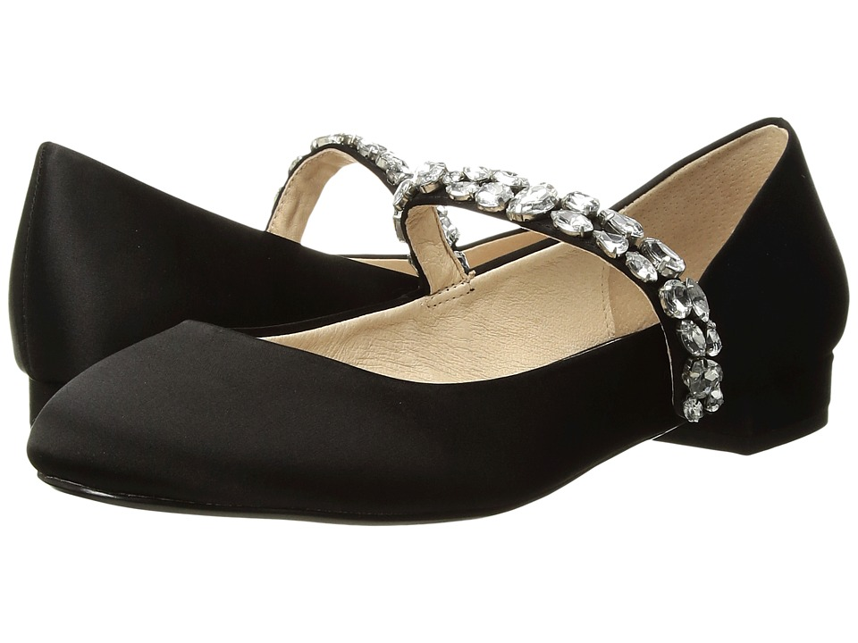 Blue by Betsey Johnson Ansel (Black Satin) Women