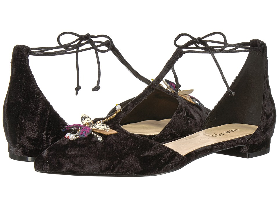 Nine West Amethyst (Black Fabric) Women