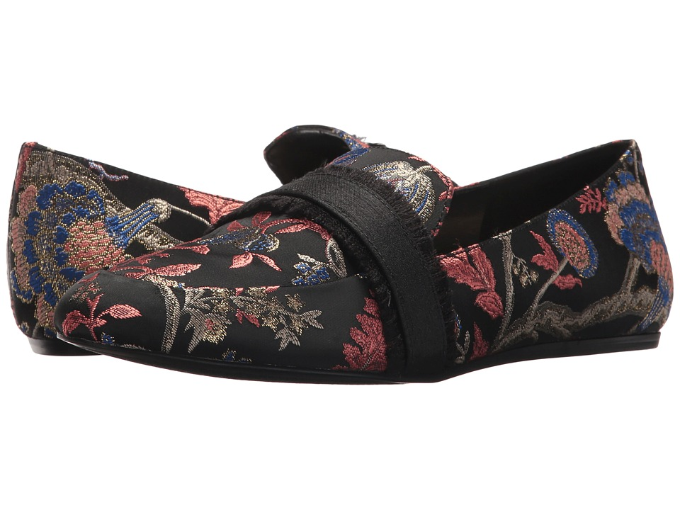 Nine West Baruti Loafer (Black Multi/Black Fabric) Women
