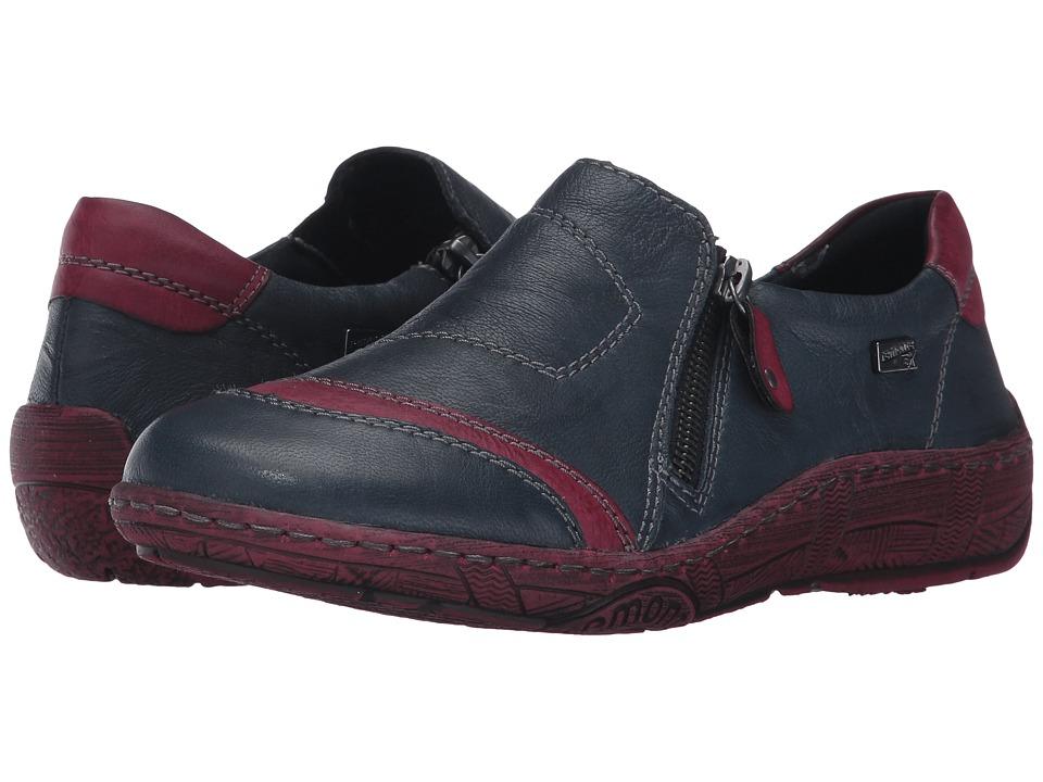 Rieker - D3809 Thekla 09 (Navy/Wine) Women's Shoes