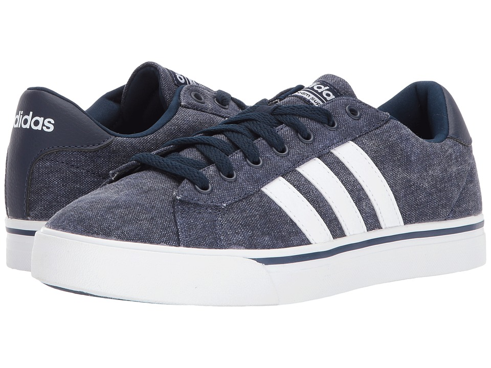 adidas - Cloudfoam Super Daily (Navy/White/Mavu) Men's Shoes