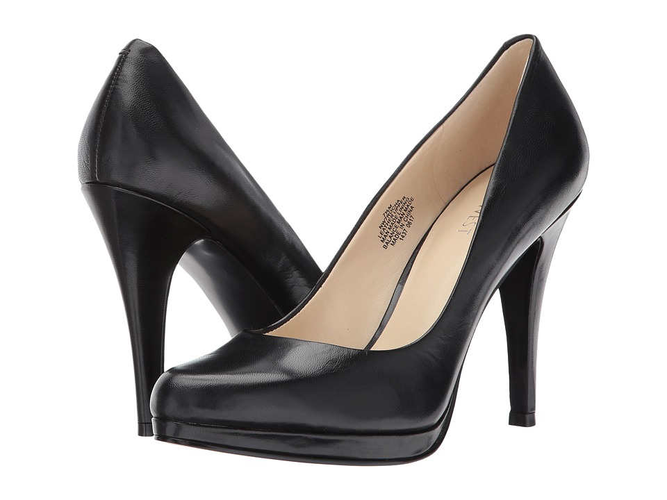 Nine West - Rocha (Black Leather 1) High Heels