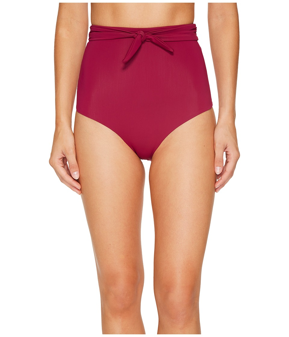 Mara Hoffman - Jay High-Waisted Bottom (Berry) Women's Swimwear