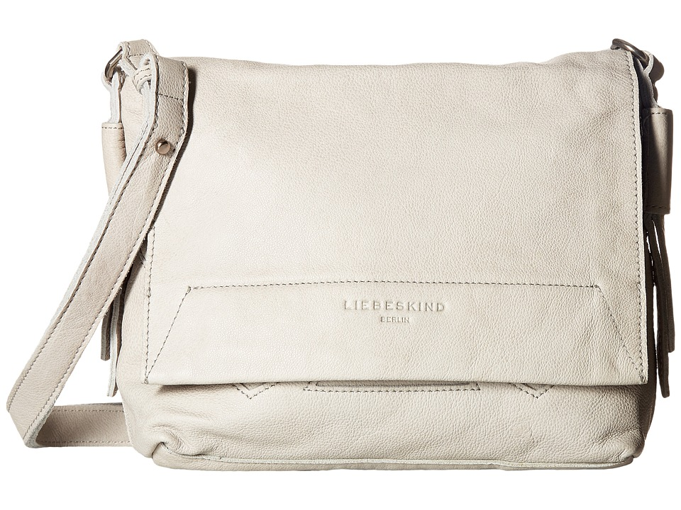 Liebeskind - Funda Double-Dye Flap Crossbody (Hyena Grey) Cross Body Handbags
