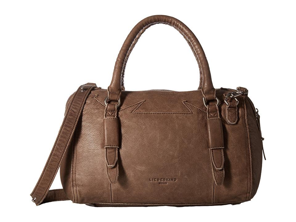 Liebeskind - Moya Double-Dye Satchel (Rhino Brown) Satchel Handbags