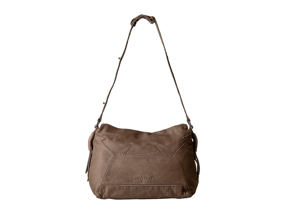 Liebeskind - Linia Double-Dye Shoulder Bag (Rhino Brown) Shoulder Handbags